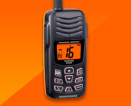 HX300E Marine VHF walky talky